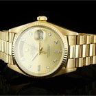 Rolex Day-Date (36mm) Ref.: 18038 in 18k Gelbgold mit Diamantz...