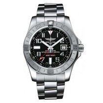 Breitling Men's A3239011/BC34/170A Avenger II GMT Watch