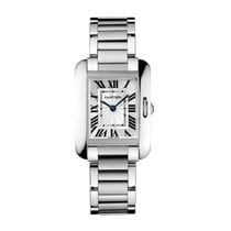 Cartier Tank Anglaise Quartz Ladies Watch Ref W5310022