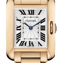 Cartier Tank Anglaise SMALL 18kt Rose Gold AUTHENTIC w5310013