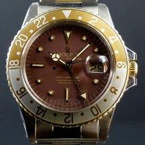 Rolex GMT-Master 1675 Or/Acier