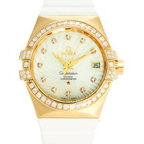 Omega Watch Constellation Chronometer Ladies 123.57.35.20.55.003