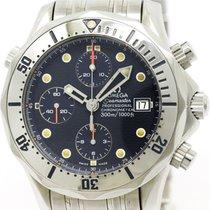 Omega Polished Omega Seamaster Professional 300m Chronograph...