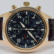 IWC 371713 - Pilot Chronograph 18k Rosegold - Full Set