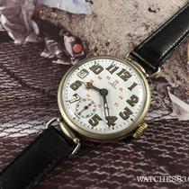Omega Antiguo reloj suizo oficial de trinchera de cuerda Omega...