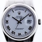 Rolex Oyster Perpetual Day-Date Automatik in Weissgold 18kt...