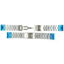 Deep Blue S/steel 'oyster Look' Custom Bracelet For...