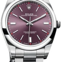 Rolex Oyster Perpetual 39 mm Steel 114300 rose