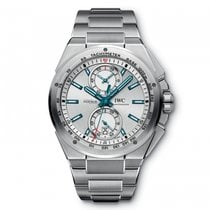 IWC Ingenieur Chronograph Racer Silver  Dial Automatic...