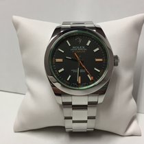 Rolex Milgauss 116400 black dial stainless steel