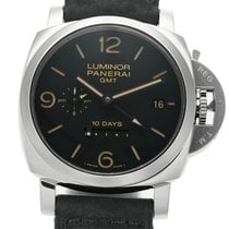 Panerai Luminor Collection Luminor 1950 10 Days GMT Steel 44mm...