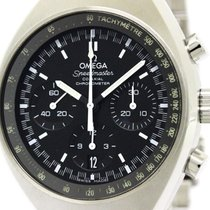 Omega Polished Omega Speedmaster Mark Ii Co Axial Steel...