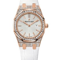 Audemars Piguet Royal Oak Lady Rose Gold Diamonds Watch