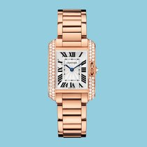 Cartier TANK ANGLAISE 30 Rotgold -NEU- incl. VAT Export possible