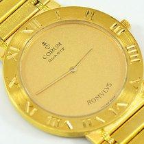 Corum Romvlvs 18K Yellow Gold Unisex Men's Watch, 31mm Quartz