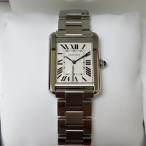 Cartier Tank Solo Small Steel Watch [New]