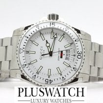 abd7914beff Gucci Dive White Dial 40MM Stainless Steel Swiss Quartz Men s... for ...