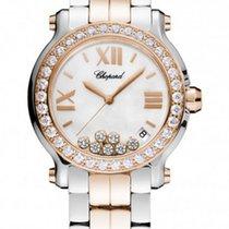 Chopard Happy Sport Ladies After Market Diamond Watch