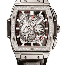 Hublot Spirit of Bing Bang Titanium Diamonds Bezel Men`s Watch