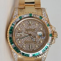 ロレックス (Rolex) Rolex GMT-Master II Watch Custom Dial and Bezel...