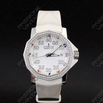 Corum Admiral's Cup Diamond Automatic Rubber White