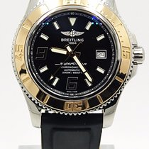 Breitling Superocean Abyss C17391 Rose Gold Bezel Deploying...