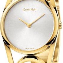 ck Calvin Klein round K5U2S546 Damenarmbanduhr Schmuckband