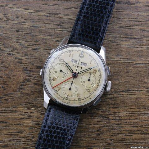 doxa chronograph watch f r kaufen von einem seller auf chrono24. Black Bedroom Furniture Sets. Home Design Ideas