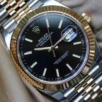 Rolex Datejust ref 126333 black dial unworn full set
