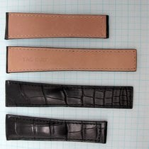 TAG Heuer 22/18mm Black Alligator Strap
