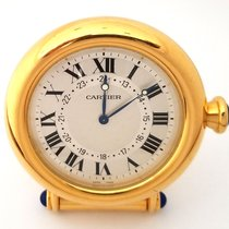 Cartier Vintage Desk Travel Clock Alram