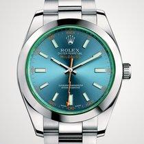 Rolex Milgauss Blue Dial Nuovo 07/2017