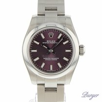 Rolex Oyster Perpetual 26 Red Grape NEW