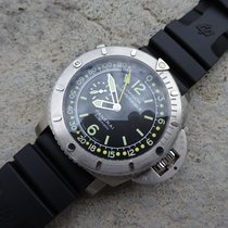 Panerai Luminor Submersible Depth Gauge  mit B&P von 2012