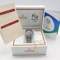 Omega Speedmaster Mark II Olympic Edition Rio 2016 Stainless...
