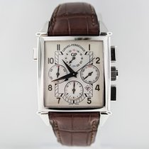 Girard Perregaux Vintage 1945 Chrono GMT White Gold