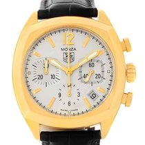 TAG Heuer Monza 18k Yellow Gold Chronograph Watch Cr514a