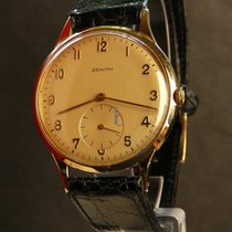 Zenith 18K YG Cal 126-6, oversized, IWC Portuguese-style dial,...