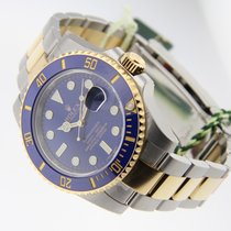 Rolex Submariner 116613 Two-Tone Blue Ceramic Bezel Gold