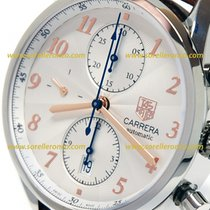 TAG Heuer CARRERA HERITAGE CALIBRE 16 41MM  SILVER DIAL...