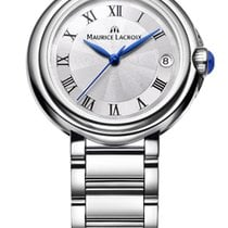 Maurice Lacroix Fiaba. 32, Roman Index, Silver Dial, Steel...