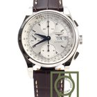 Longines Heritage 1954 Chronograph 40mm Crocodile Strap NEW