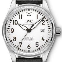 IWC Schaffhausen IW327002 Pilot's Watch Mark Xviii White...