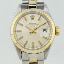 ロレックス (Rolex) Oyster Perpetual Date Automatic Steel-Gold Lady...