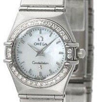 Omega 1466.71.00 Constellation White MOP & Diamonds...