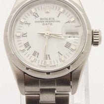 Rolex 69190 Date Ladies Automatic Oyster Perpetual Stainless...