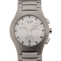 Longines Oposition 33 Chronograph White Dial