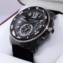 Cartier Calibre De Cartier Diver Wsca0006 42mm Black Adlc...