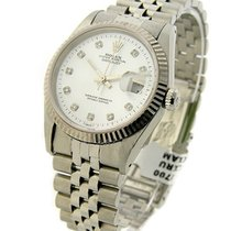 Rolex Used 16234 Mens Datejust with Jubilee Bracelet - circa...