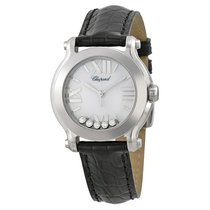 Chopard Ladies 278509-3001 Happy Sport II 5-Diamonds Watch